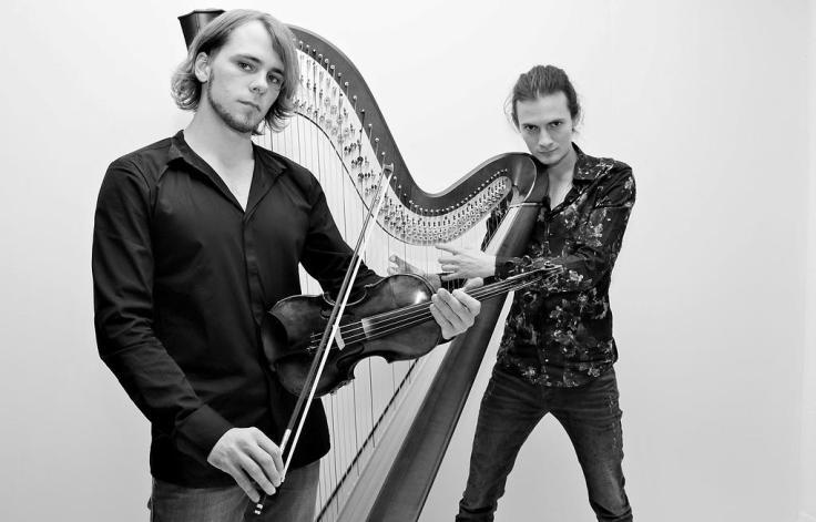скрипка и арфа Game of Tones Саша Болдачев и Александр Кузнецов