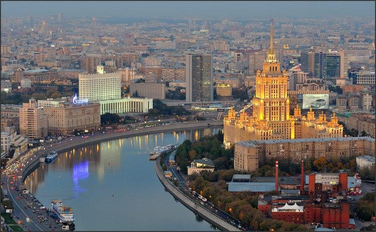 Виды из Москва-Сити