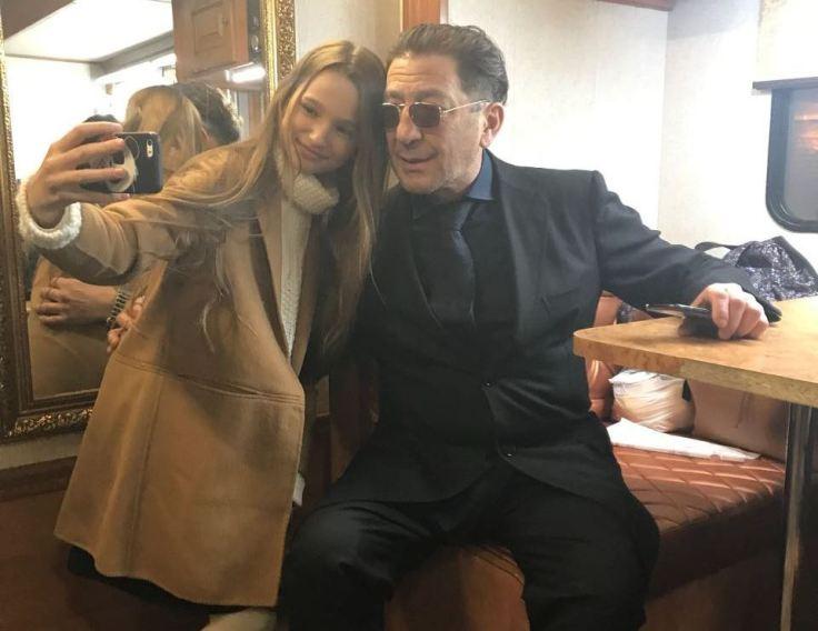 Лиза Анохина и Григорий Лепс