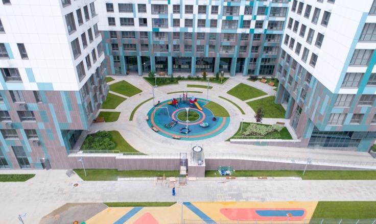 Ривер Парк_двор